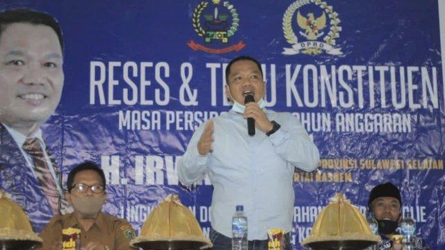 Reses, Legislator NasDem Sulsel Irwan Dapat Keluhan Soal Air Bersih, Perbaikan Sekolah hingga Nasib Tenaga Honorer