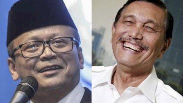 Edhy Prabowo dan Luhut B Pandjaitan