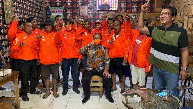 Danny Pomanto bersama Eks Pemain PSM Makassar