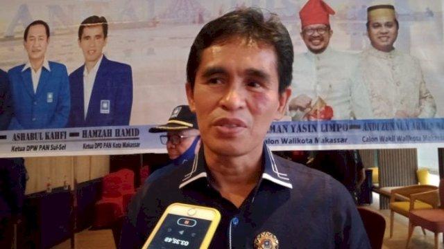 Ketua DPD PAN Makassar, Hamzah Hamid