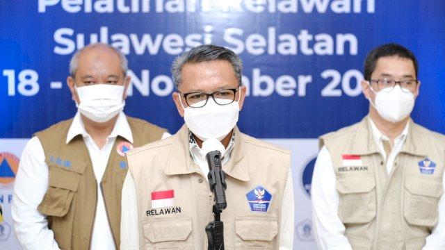 Gubernur Nurdin Buka Pelatihan 1.000 Relawan Covid-19