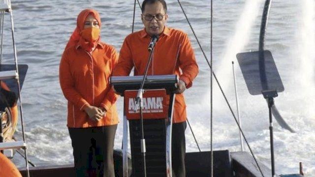 Paslon Moh Ramdhan 'Danny' Pomanto dan Fatmawati Rusdi