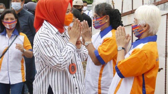 Pesan Menyejukkan Fatma Jelang Masa Tenang Pilwalkot Makassar