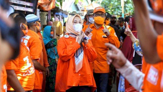 Paslon nomor urut satu, Moh Ramdhan Pomanto-Fatmawati Rusdi