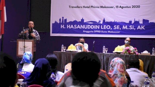 Anggota DPRD Makassar dari Fraksi PAN, Hasanuddin Leo