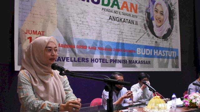 Anggota DPRD Makassar dari Fraksi Gerindra, Budi Hastuti