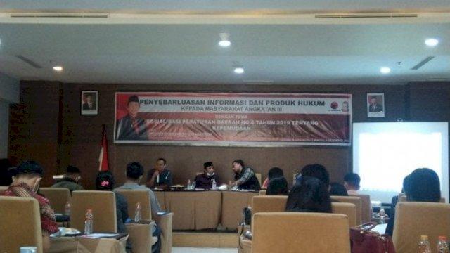 Anggota DPRD Makassar dari Fraksi PDIP, Mesakh Raymond Rantepadang