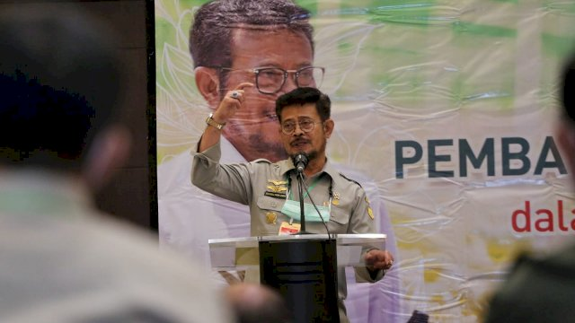 Menteri Pertanian (Mentan), Syahrul Yasin Limpo. (foto: Kementan)