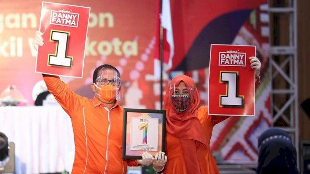 Paslon Danny-Fatma segera dilantik sebagai wali Kota dan wakil Wali Kota Makassar.