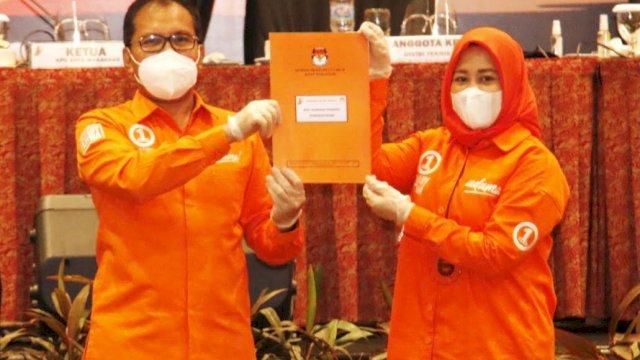 Danny dan Fatmawati Rusdi ditetapkan sebagai Wali Kota dan Wakil Wali Kota Makassar