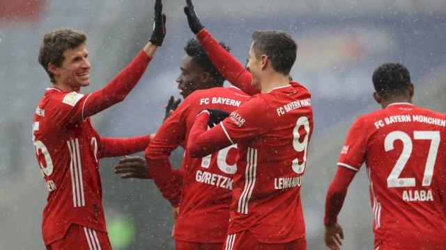 Pemain Bayern Munchen. (Foto: twitter Bayern Munchen)