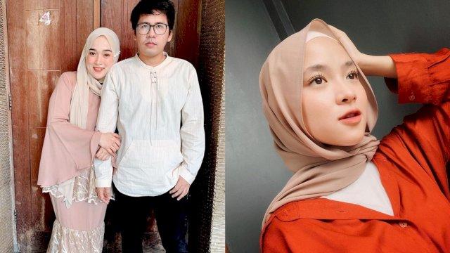 Nissa Sabyan dan Ayus bersama sang istri