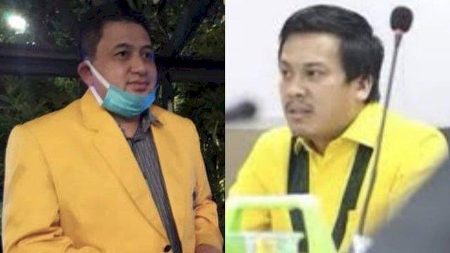 Munafri Arifuddin alias Appi dan Nurhaldin NH ambil formulir maju di Musda Golkar Makassar