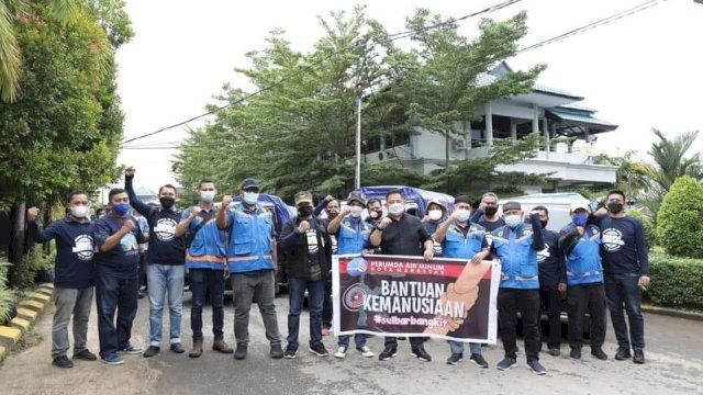 PDAM Makassar Kirim Bantuan Korban Gempa di Sulbar