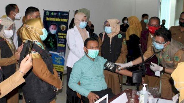 Vaksinasi Sinovac, Pemkab Takalar Segera Sasar Tenaga Kesehatan