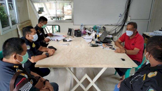 Sidak pekerja asing digelar Divisi Imigrasi Kementerian Hukum dan HAM Sulawesi Selatan di sebuah perusahaan tambang marmer PLTU Mitsubishi Corp yang beroprasi di Kabupaten Pangkep.