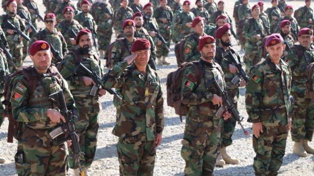 Personel militer Afghanistan. (Foto: Twitter Kemenhan Afghanistan)
