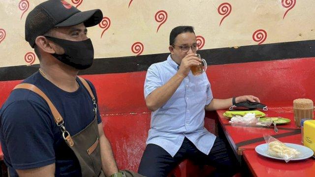 Elektabilitas Anies Terus Naik, Kini Rajin Blusukan, ke Tempat Ibadah hingga Warung Makan