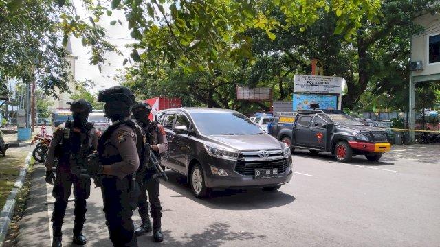 2 Orang, Ini Identitas Pelaku Bom Bunuh Diri Depan Gereja Katedral Makassar