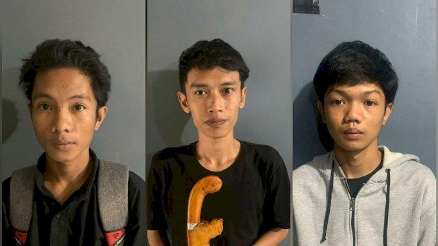 Ini Wajah Asli 3 Pria Bertopeng Pengeroyok Anggota TNI di Bulukumba yang Sementara Berobat