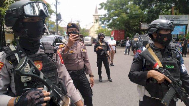 Korban Bom Bunuh Diri di Gereja Katedral Makassar, Polisi Sebut 9 Orang Termasuk Bomber