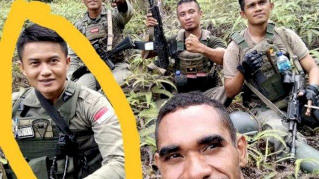 Briptu Herlis jadi korban meninggal usai kontak tembak di Poso. (Facebook)