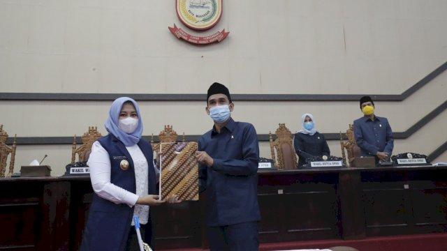 DPRD Makassar Tanda Tangani Nota Kesepakatan RPJMD Tahun 2021-2026