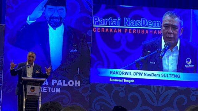 Rakorwil NasDem: Ahmad Ali, di Pundakmulah Kejayaan Sulawesi Tengah ke Depan