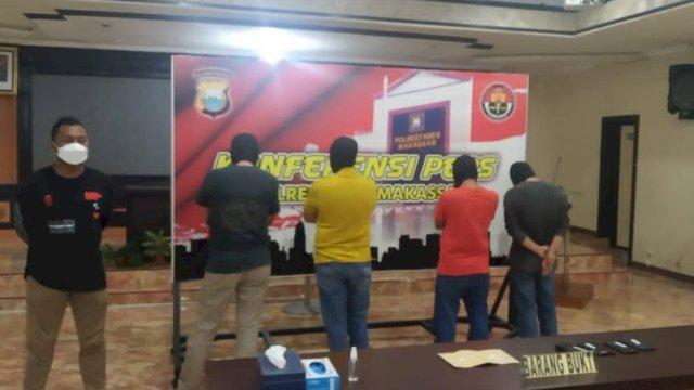 Empat Pejabat Pemkot Makassar yang Ditangkap Ternyata Konsumsi Narkoba Sejak Lama