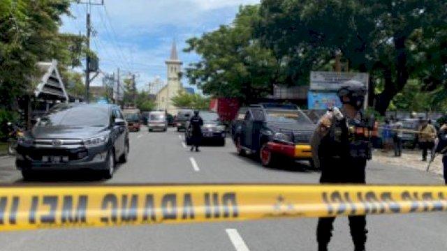 Densus 88 Tangkap Otak Pembuat Bom Depan Gereja Katedral Makassar
