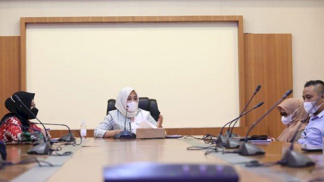 Rapat Pembetukan Satgas Raika, Wawali Makassar Fatmawati Rusdi Minta Segera Bekerja