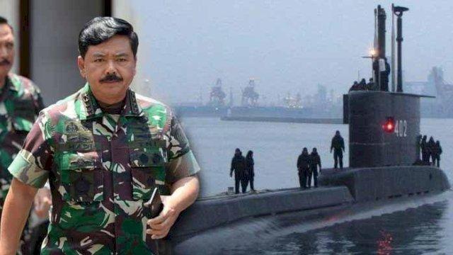 Panglima TNI: KRI Nanggala 402 Ditemukan, Seluruh ABK Kapal Selam Telah Gugur