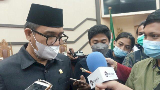 Ketua DPC Demokrat Makassar, Adi Rasyid Ali.