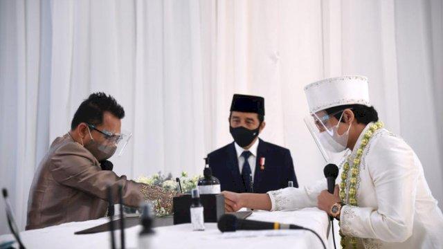 Presiden RI Joko Widodo Jadi Saksi Pernikahan Atta Halilintar dan Aurel Hermansyah.