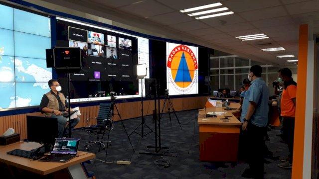 Press conference BNPB RI update bencana banjir bandang Flores Timur.
