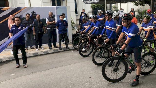 Rusdi Masse Lepas Gowes Nusantara NasDem Rute Palu-Donggala
