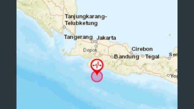 Gempa M 5,6 di Sukabumi Terasa I-II MMI di Jabodetabek: Benda dan Orang Bergoyang