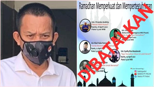 Karena Radikal, Kajian Online Ramadan PT Pelni Dibatalkan