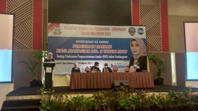 Legislator Demokrat Makassar Rezki Bicara Kesetaraan Gender