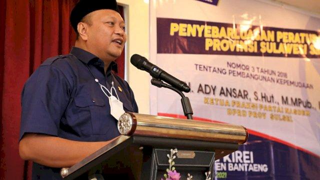 Bukan Cuma OKP, Ady Ansar Dorong Pemda Juga Fasilitasi Komunitas Anak-anak Muda