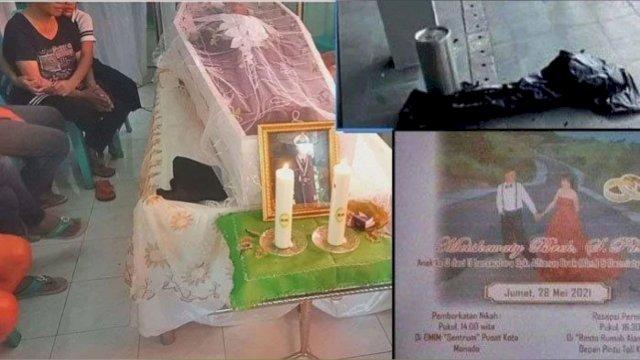 Calon pengantin pria tewas usai loncat dari kamar hotel