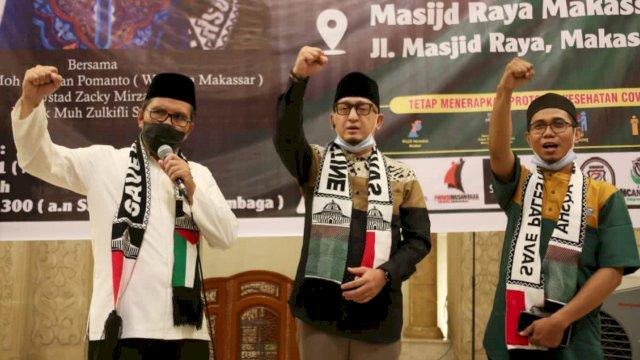 Road Show Penggalangan Dana, Walikota Danny Dikukuhkan Jadi Duta Rumah Dai Palestina