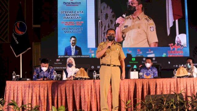 Di Gebyar e-KTA, Danny sebut Partai Nasdem Makassar Lebih dulu Bersmart City Dibanding Partai Lain
