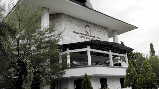 Gedung DPRD Makassar.