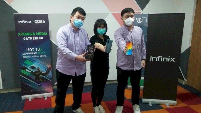 Penuhi Kebutuhan Para Gamers, Infinix Hot 10S Hadir di Makassar