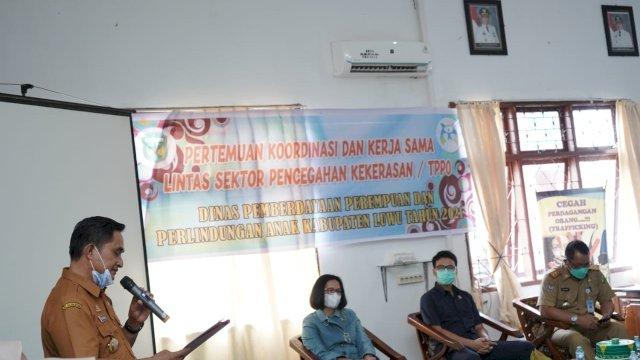 Temu DP3A dan Lintas Sektor, Komitmen Pemkab Luwu Cegah Kekerasan dan Tindak Pidana Perdagangan Orang