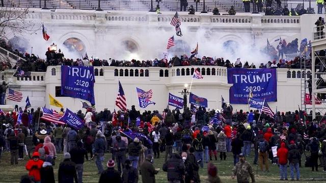 Bikin Rusuh di Capitol, Pendukung Mantan Presiden Amerika Serikat Donald Trump Dihukum
