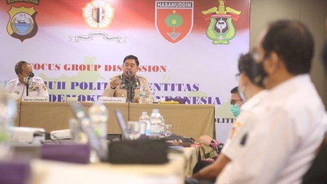 Abdul Hayat Wakili Plt Gubernur Sulsel di FGD Lemhannas RI