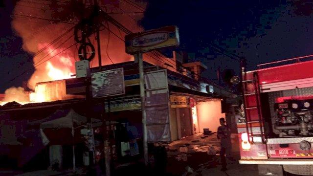 Sakit Hati, Karyawan Indomaret di Makassar Bakar Toko dan Curi Uang