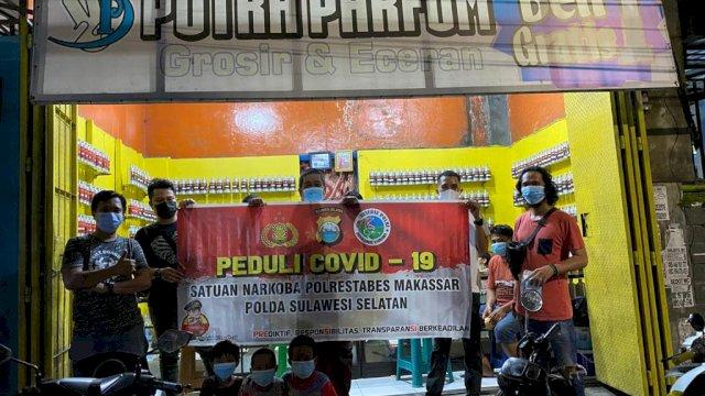 Tim Ubur-ubur Polrestabes Makassar.